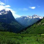 Mount Cannon and Heavens Peak, Glacier National Park, Montana